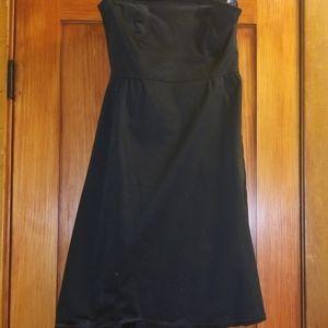 Old Navy Strapless Black Dress